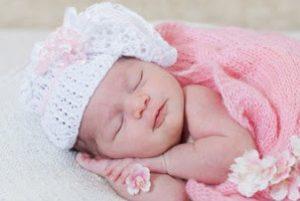 Розовое одеяльце