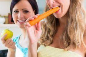 Оранжевая морковь