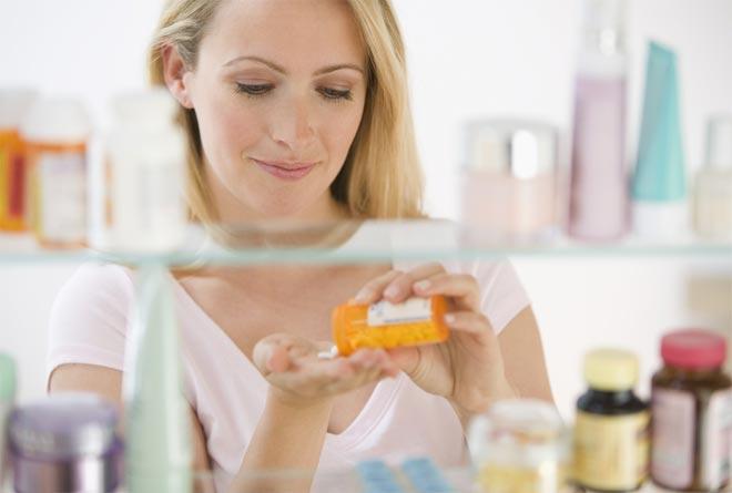 Приём лекарств от поноса