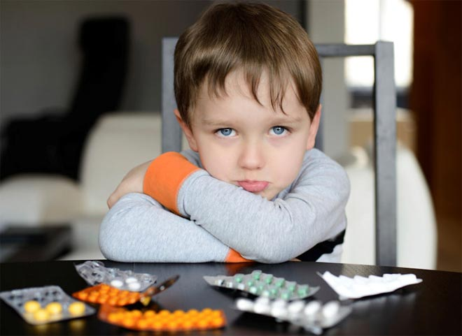 Таблетки и ребенок