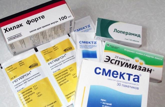 Препараты от диареии