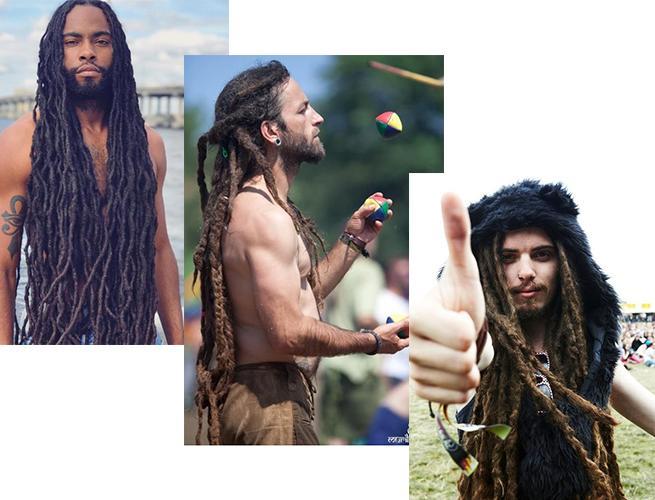 Дреды мужские: общие понятия +150 фото идей для подражания