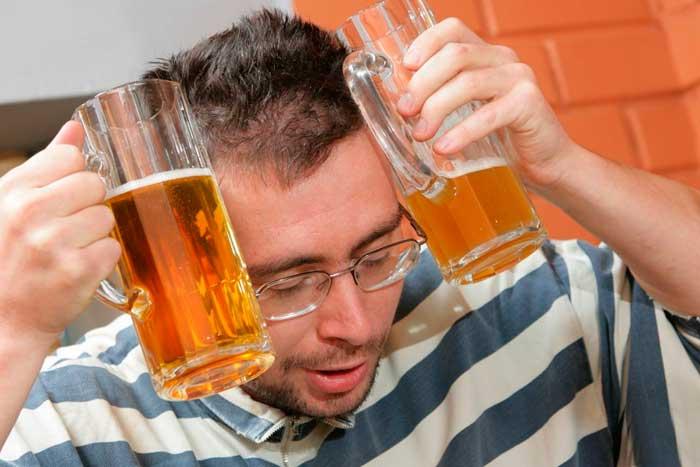 Как избавиться от похмелья после пива?
