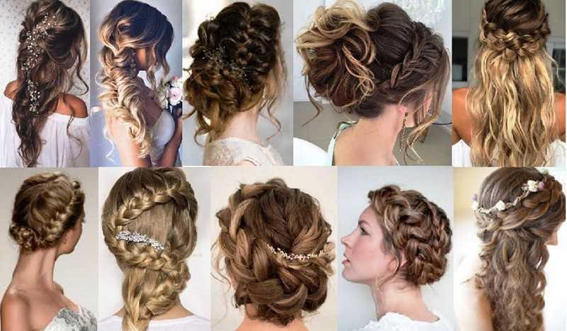 Свадебные косы: более 100 идей с фото