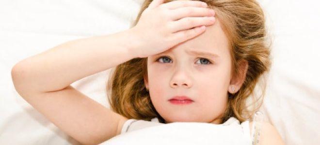 Головная боль в области лба у ребенка: причины патологии