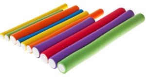 Разноцветные бигуди бумеранги