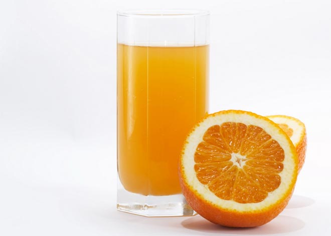 с апельсином