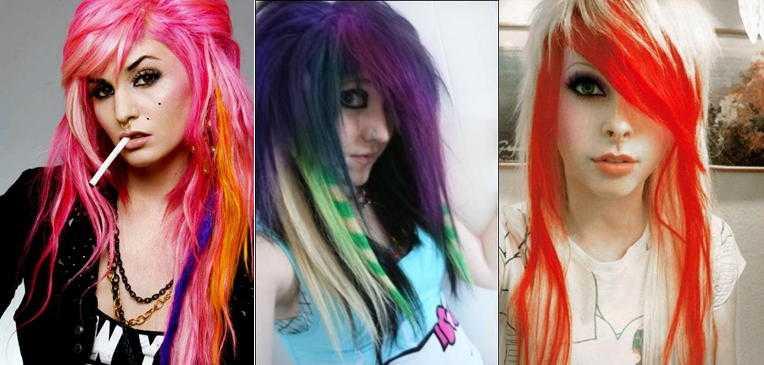 Стрижка Треш на волосах разной длины +60 фото