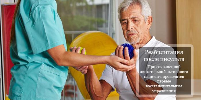 Гимнастика для рук после инсульта