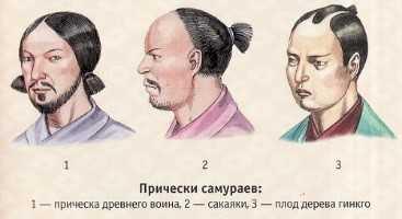 История прически самурая, современные виды для мужчин, женщин и детей