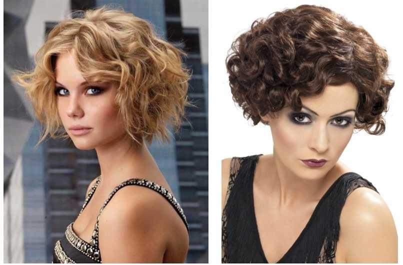 100 модных стрижек на вьющиеся волосы с фото