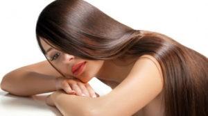 Длинные ровные блестящие волосы