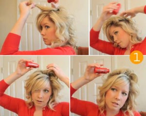 Укладываем волосы при помощи пудры