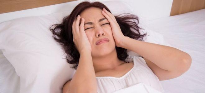 Частые головные боли у женщин