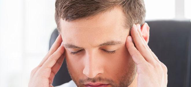 Причины головных болей у мужчин