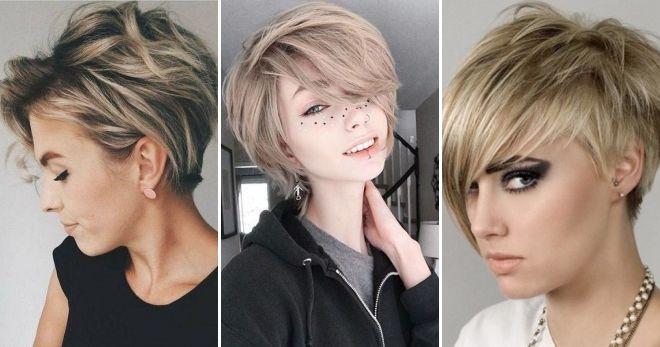 Стрижка пикси для всех типов лица: техника выполнения с фото