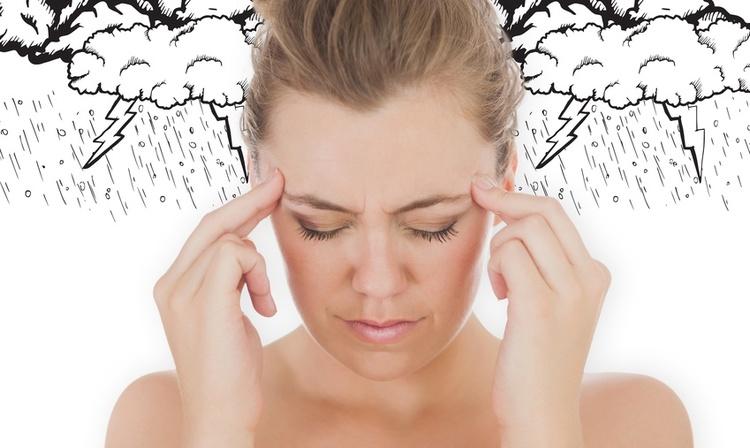 атмосферное влияние на голову
